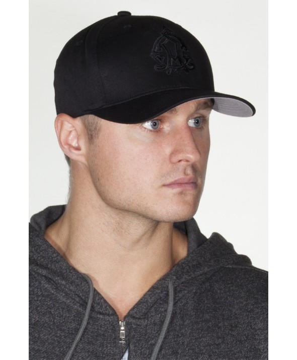 CAP BAROQUE BLK/BLK FLEX FIT