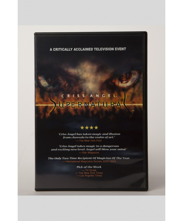 DVD CRISS ANGEL SUPERNATURAL