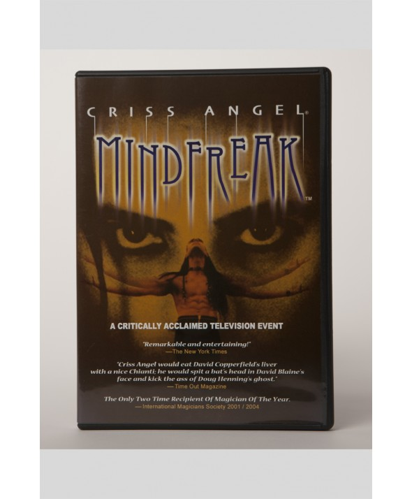 DVD MINDFREAK TV SPECIAL