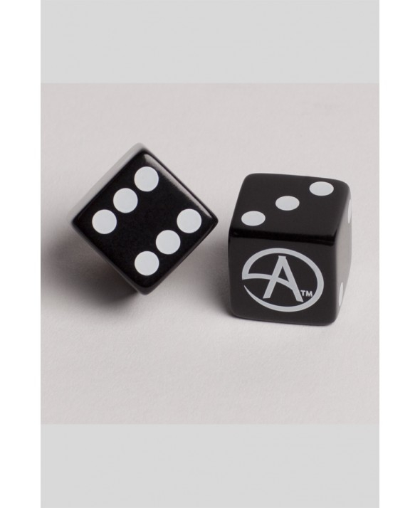 DICE CA LOGO WHITE ON BLACK