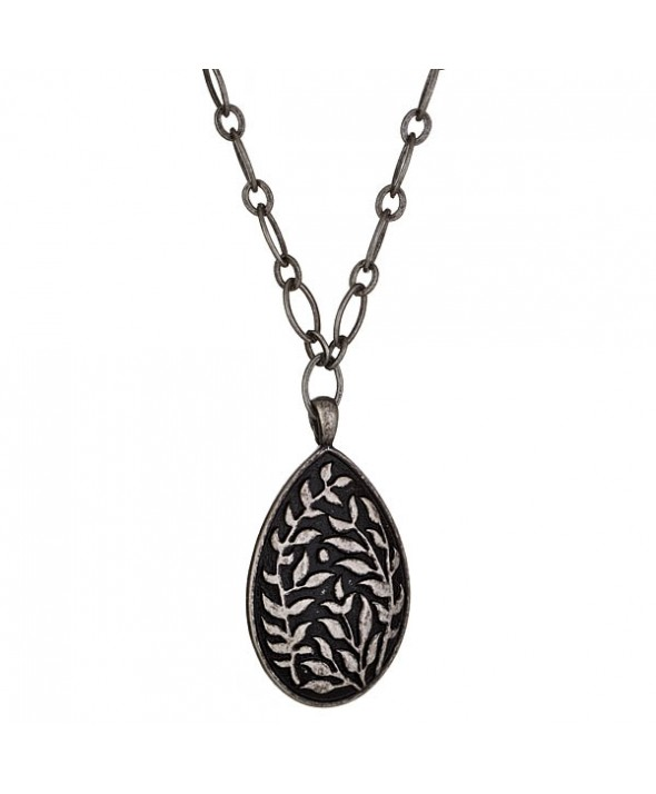 Criss Angel the Jewelry Pear Shaped Vine Necklace