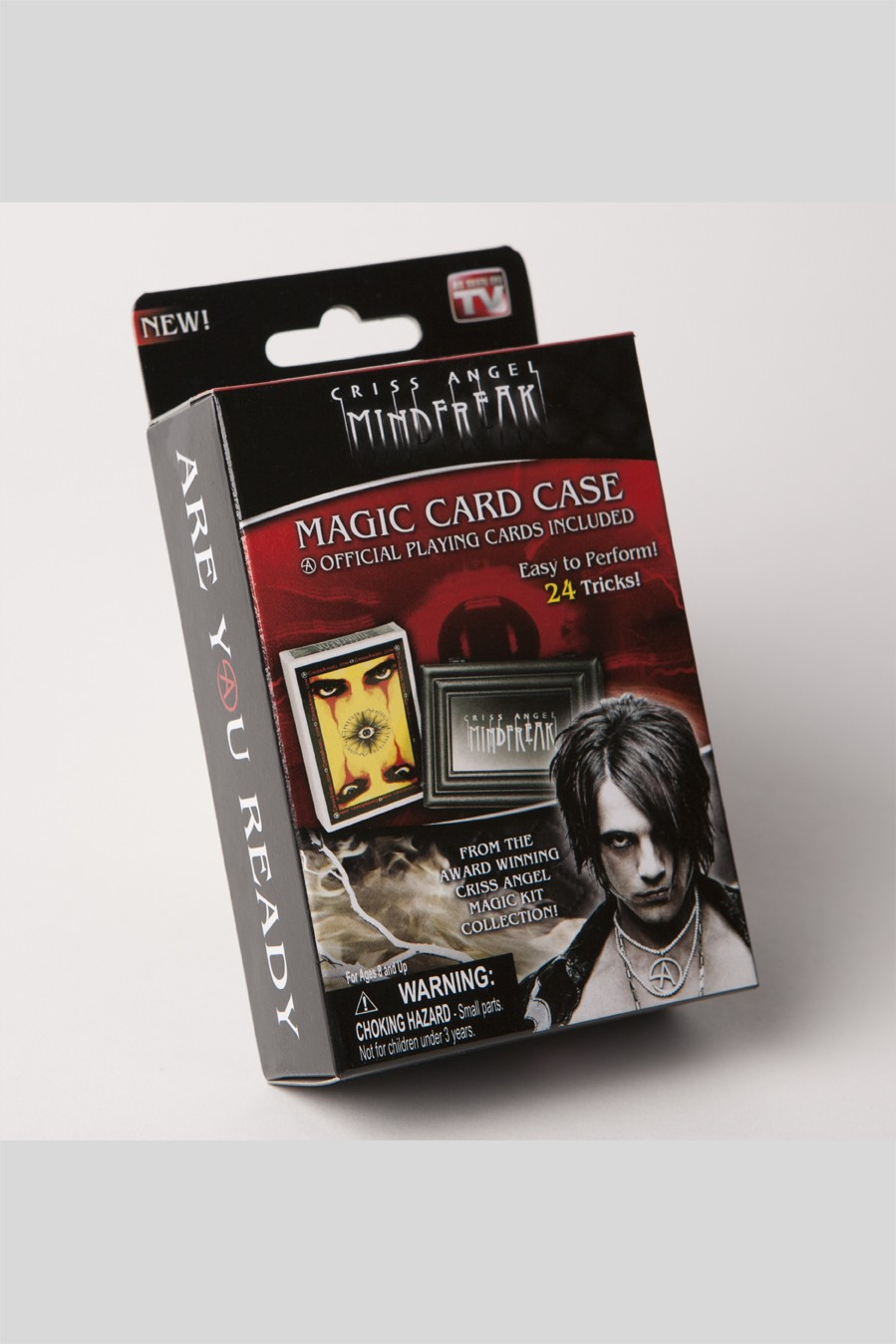 MAGIC MF CRISS ANGEL CARD CASE W/ CARDS