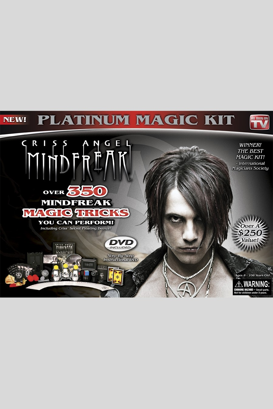 Criss Angel MINDFREAK Platinum Magic Kit