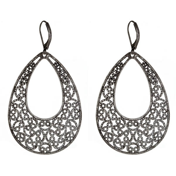 Criss Angel the Jewelry Perfect Pear Shaped Statement Earring