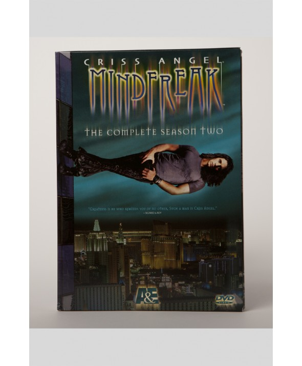 DVD MINDFREAK A&E SEASON 2