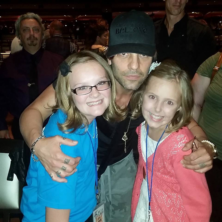 Avery Driscoll and Criss Angel