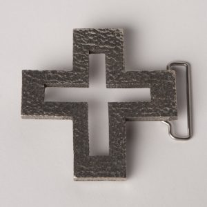 BELT BUCKLE CROSS HH-0
