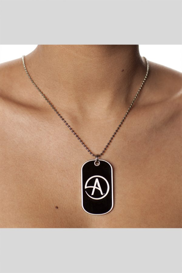 DOG TAG CA ON BLK /BACK SIGN.-0