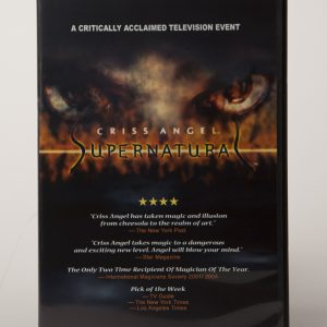 DVD CRISS ANGEL SUPERNATURAL-0