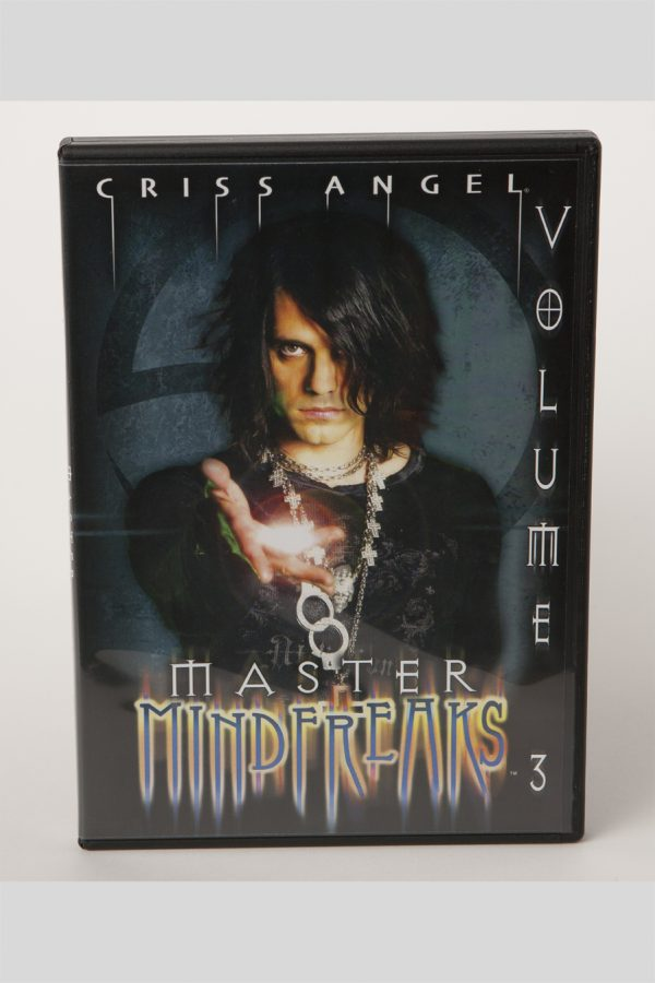 DVD CRISS ANGEL MASTER MINDFREAKS VOL 3-0