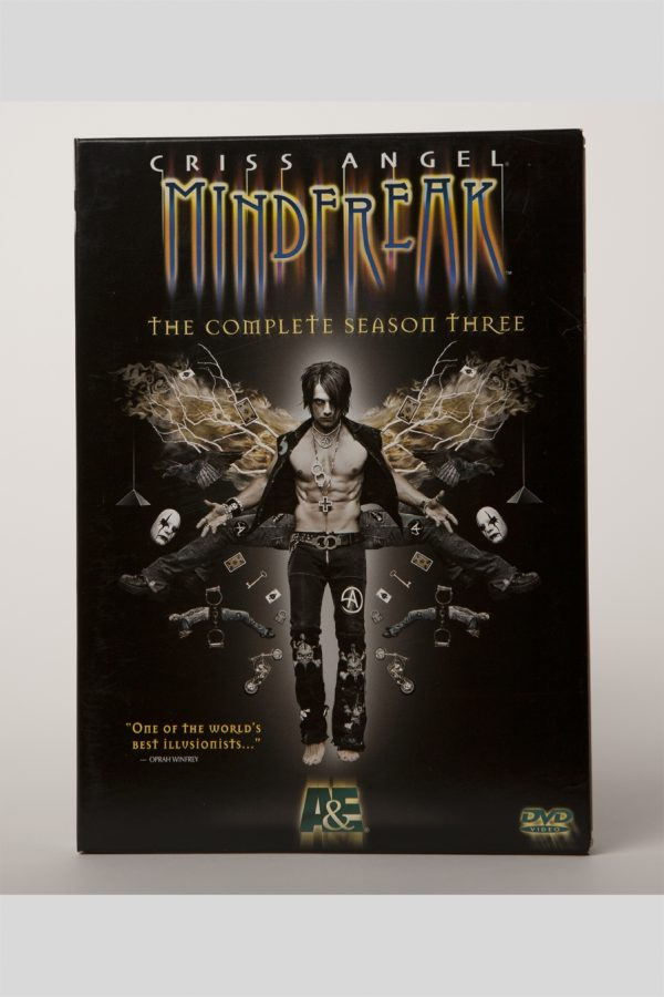 DVD MINDFREAK A&E SEASON 3-0