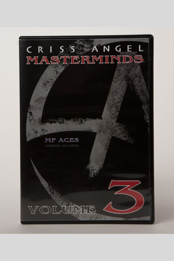 DVD CA MASTERMINDS VOL 3. CLASSIC ACES W/ GIMMICK-0