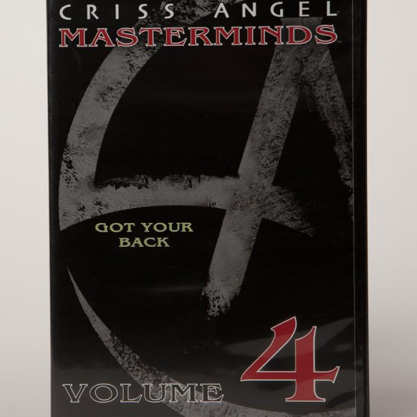 DVD CA MASTERMINDS VOL 4. GOT YOUR BACK-0