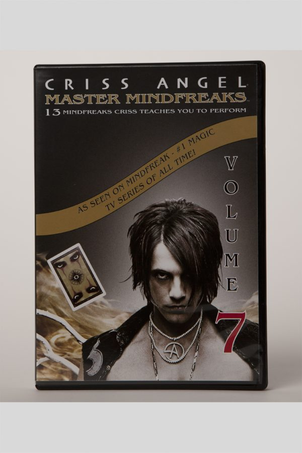 DVD CRISS ANGEL MASTER MINDFREAKS VOL 7-0