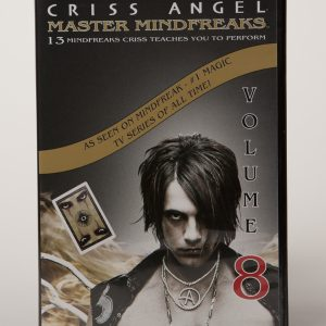 DVD CRISS ANGEL MASTER MINDFREAKS VOL 8-0