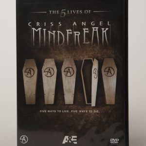 DVD MINDFREAK A&E SEASON 5-0