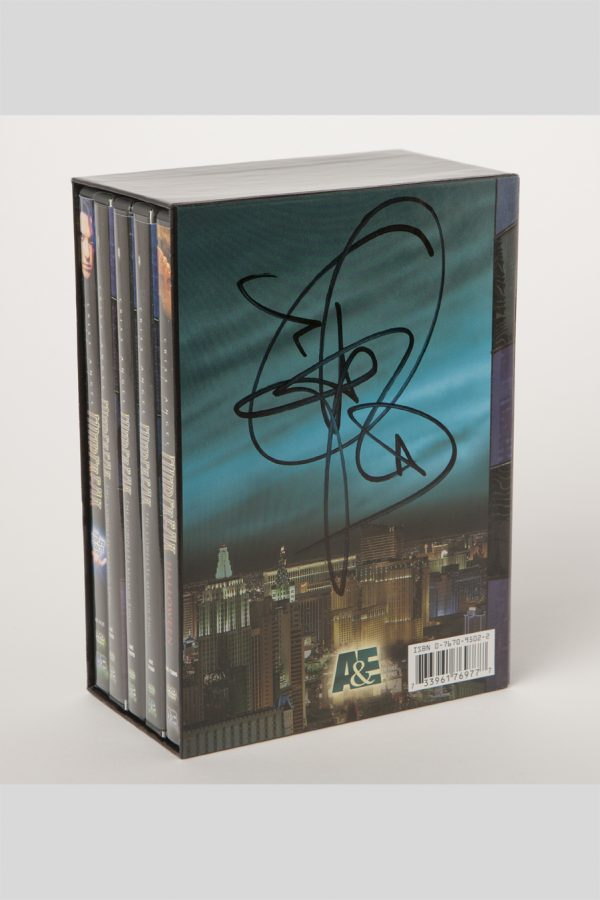 DVDSET MF A&E #1 #2 &HLWN /SIGNED-0