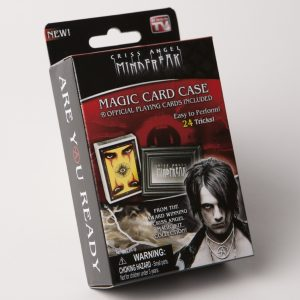 MAGIC MF CRISS ANGEL CARD CASE W/ CARDS-0