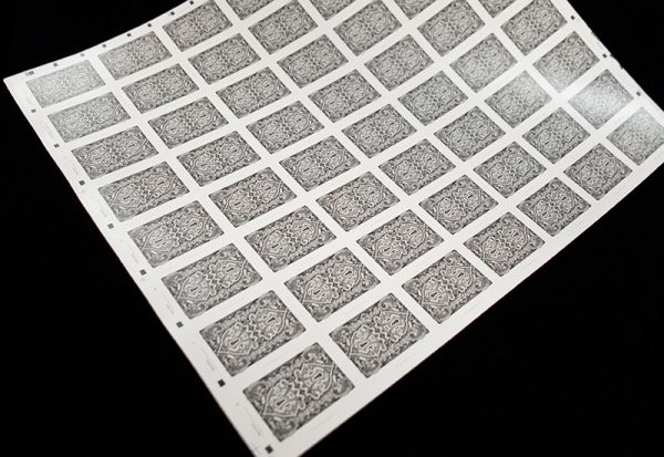 BAROQUE UNCUT SHEETS - Gray Edition