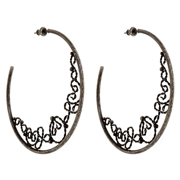 Criss Angel the Jewelry Hoop Earrings-0