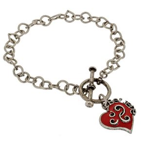 Criss Angel the Jewelry Follow Your Heart Bracelet (Red)-0