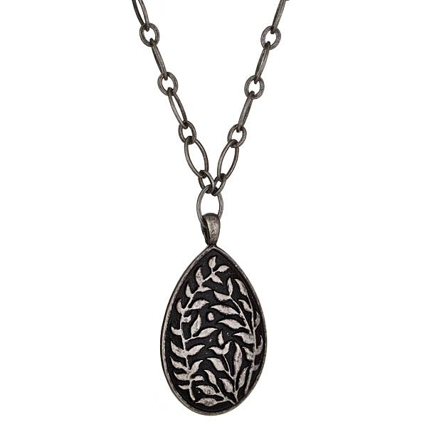 Criss Angel the Jewelry Pear Shaped Vine Necklace-0