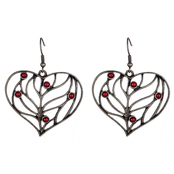 Criss Angel the Jewelry Heart Earrings-0