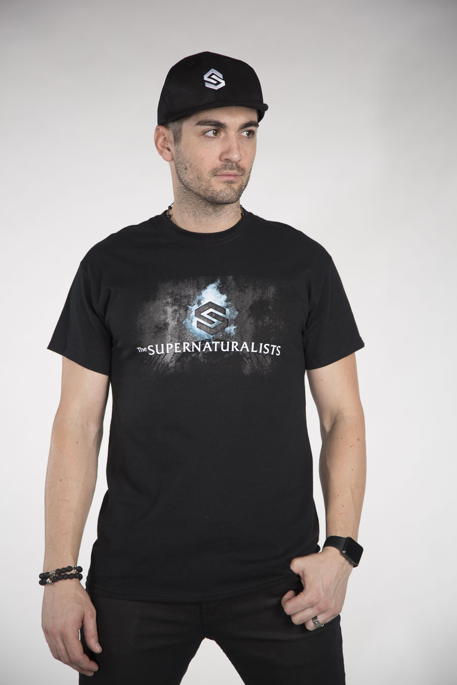 COMBO CAP/TEE THE SUPERNATURALISTS-0