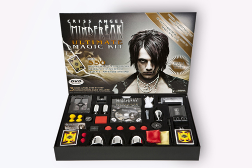 Criss Angel MINDFREAK Ultimate Magic Kit.