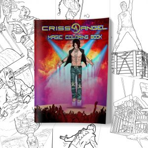 CRISS ANGEL'S LARGE MAGIC COLORING BOOK-0