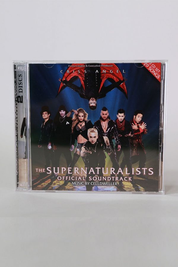CD THE SUPERNATURALISTS: OFFICIAL SOUNDTRACK [2-DISCS]-0