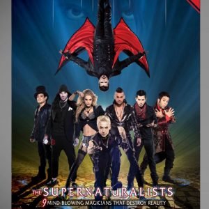 THE SUPERNATURALISTS PROGRAM BOOK-0